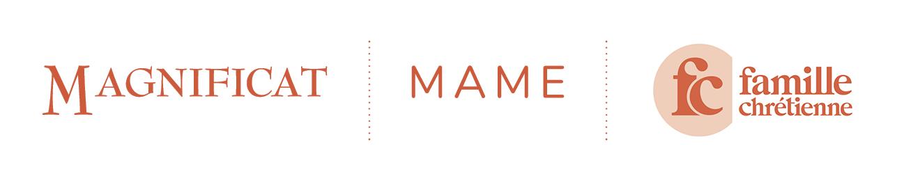 trois logos des marques